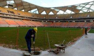 Mundial Brasil 2014: muere obrero en construcción de estadio de Manaos