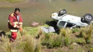 Otuzco: cinco heridos de gravedad dejó volcadura de camioneta a abismo