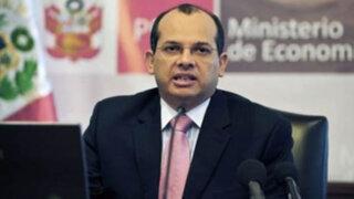 Ministro Castilla: Aumento en presupuesto de educación y salud no es populismo