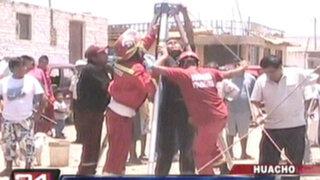 Huacho: trabajador falleció cuando realizaba limpieza en un ducto de desagüe