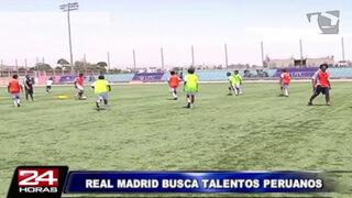 Real Madrid inició entrenamientos para nuevos deportistas peruanos