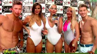 Paula Ávila y Leticia Altamirano presentan grupo 'Las Chicas Splash'