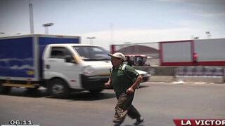 La Victoria: Conductor del Chosicano sin licencia de conducir atropelló a reciclador