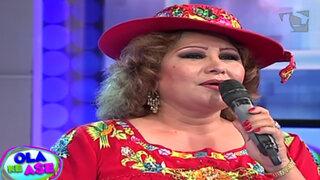 La 'Novia del Perú' Amanda Portales nos canta su clásico tema 'Amor amor'