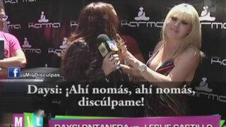 Daysi Ontaneda esquivó saludo de Leslie Castillo durante rueda de prensa