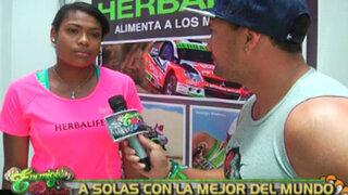 Ángela Leyva: la mejor voleibolista del mundo a solas con Enemigos Públicos