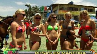 Las nuevas 'Chicas Doradas' causaron furor en las playas de Máncora
