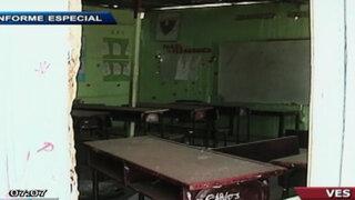 Denuncian calamitoso estado de centros educativos en Villa El Salvador