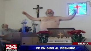 Estados Unidos: iglesia nudista genera polémica en Virginia