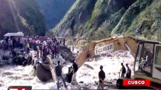 Cusco: rescatan a más de 250 turistas varados en ruta alterna a Machu Picchu
