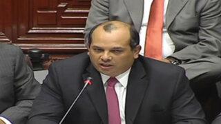 Ministro Castilla niega intervención para ampliación de la temporada de pesca