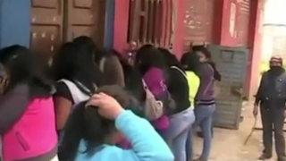 Rondas castigaron a meretrices y parroquianos en club nocturno de Cajamarca