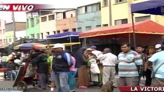 La Victoria: Municipio no puede desalojar a todos los ambulantes de La Parada