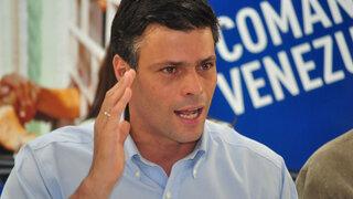 Gobierno venezolano ordenó captura del líder opositor Leopoldo López