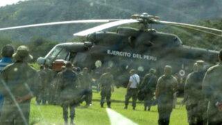 Cusco: aterrizaje forzoso de helicóptero del Ejército habría dejado un herido