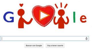 Google celebra el Día del Amor y la Amistad con interactivo Doodle