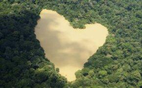 FOTOS: los paisajes naturales que asombran al mundo por su 'diseño corazón'
