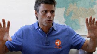 Corte venezolana negó pedido de excarcelación a Leopoldo López