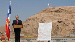 Chile: expectativa en Arica por llegada del presidente Sebastián Piñera