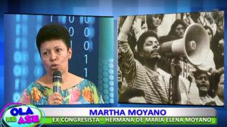 VES: rendirán homenaje a María Elena Moyano a 22 años de su asesinato