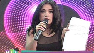 Katy Jara pide a Aida Martínez que se rectifique por vincularla con Julián Legaspi