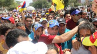 Capriles: Los venezolanos no somos violentos y no creemos en ese camino