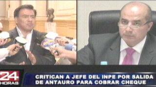 Congreso citará a Daniel Figallo y Pérez Guadalupe por salida de Antauro