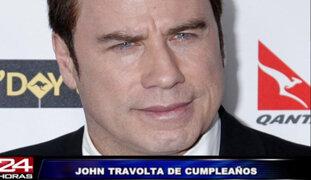 Mira los 60 años de John Travolta a través de sus películas más famosas