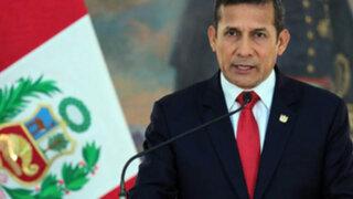 Presidente Ollanta Humala llama a la calma y al diálogo en Venezuela