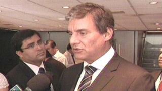 Ministro Figallo se mostró en contra de la pena de muerte en el Perú