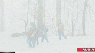 Rusia: fuertes nevadas y lluvias siguen afectando los juegos olímpicos de Sochi