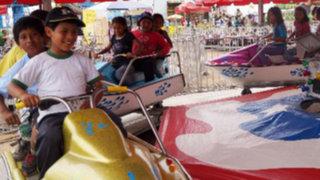 Enemigos Públicos: más de 500 niños del Inabif disfrutaron de parque de diversión