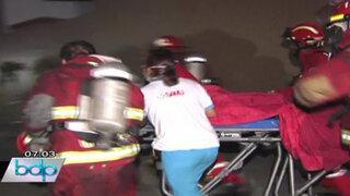 Menor de edad murió tras incendiarse su vivienda en Chorrillos