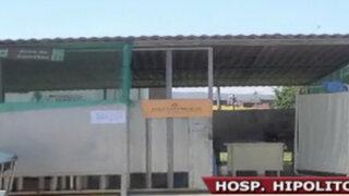 Denuncian que hospital Hipólito Unanue atiende en condiciones deplorables