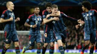 Bloque Deportivo: Bayern de Pizarro venció al Arsenal 2-0 por la Champions