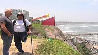 Reportero del aire de Panamericana TV representará al Perú en mundial de parapente