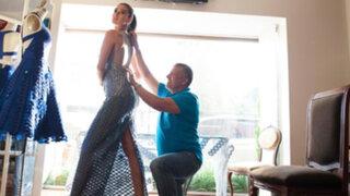 Reconocido diseñador Carlos Vigil participará en desfile de modas en Dubai