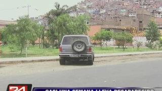 Profesor de la Agraria desaparecido fue visto por última vez en el Cerro San Cosme