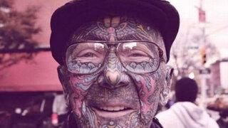 FOTOS: ¿cómo lucirán sus excéntricos tatuajes cuando usted envejezca?