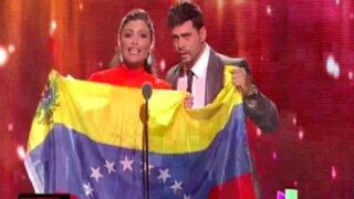 Premios Lo Nuestro 2014: famosos artistas muestran su solidaridad con Venezuela