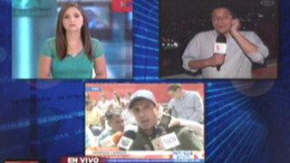 Venezuela: las protestas y manifestaciones continúan en las calles de Caracas