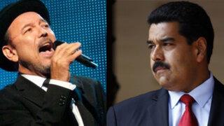 Nicolás Maduro a Rubén Blades: Me dolieron tus cartas pero te sigo queriendo