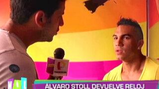 Mil Disculpas: Álvaro Stoll le devolvió el reloj a Evelyn Vela