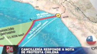 Cancillería peruana responde a protesta chilena por 'triángulo terrestre'