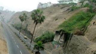 Municipio de Barranco pidió el cierre temporal de la vía de la Costa Verde
