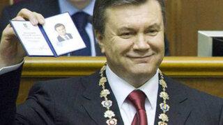 Ucrania: expresidente tenía baños de oro, licores personalizados y otros lujos