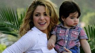 Shakira y su hijo Milan llegan a Colombia pero sin Gerard Piqué