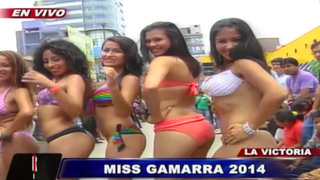 VIDEO: Glamour y sencillez reinó en la final del Miss Gamarra 2014