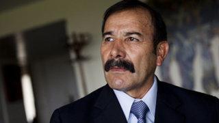 Hidalgo: Corrupción se ha enraizado en la PNP por falta de control de altos mandos
