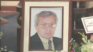 Aparecen imágenes de decano de la UNALM antes de ser asesinado